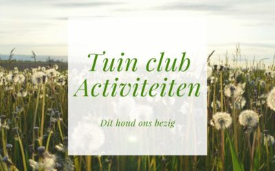 Tuinclub