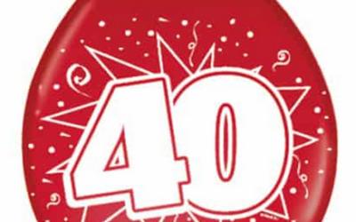 Vooraankondiging jubileumviering BVR 40 jaar op 28/8/21
